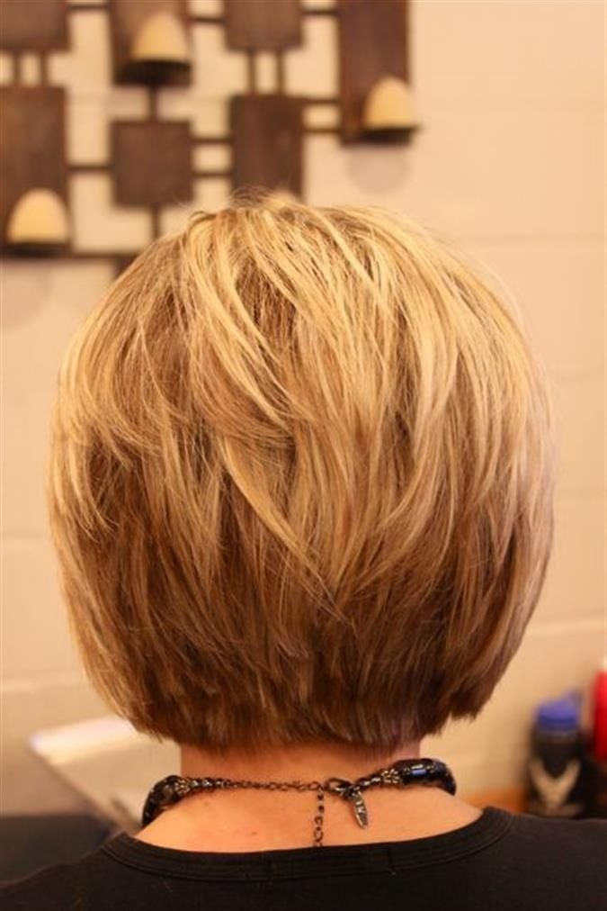 Spikey Bob Hairstyles Back View Popular Haircuts
