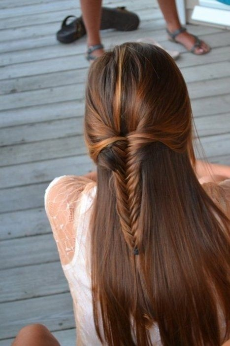 Stylish and Cute Long Hairstyles for School Girls