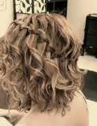 Waterfall Braid for Short Hair: DIY Short Hairstyles Ideas