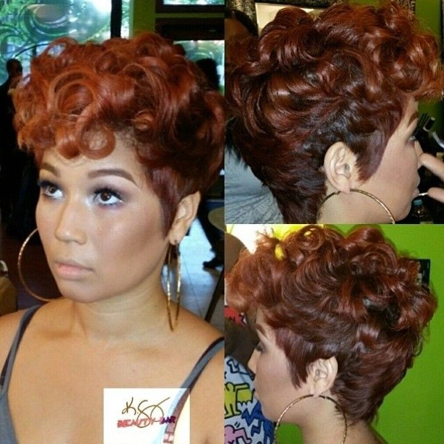 2015 Short Hairstyles for African American Hair