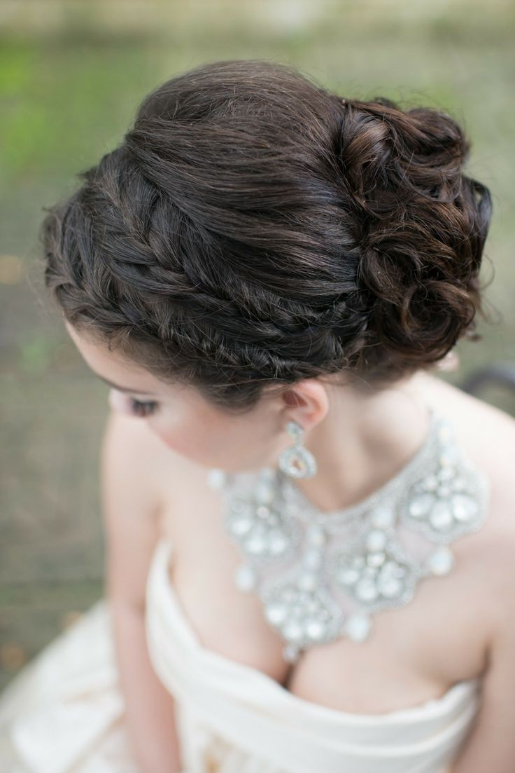 Braided Updo for Weddings