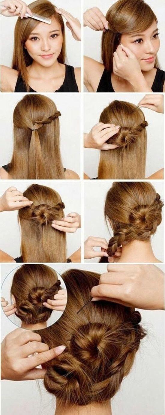 Braided Updos Tutorial: Long Hair Ideas