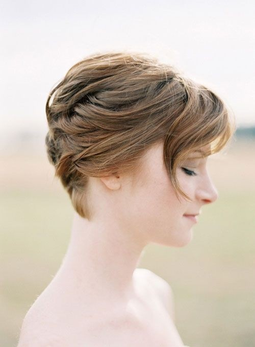 bridesmaid hairstyles for short hair popular haircuts. Black Bedroom Furniture Sets. Home Design Ideas