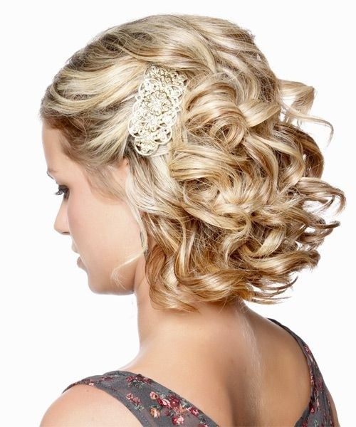 Wedding Hairstyles For Medium Hair Side Bridesmaid Hair...