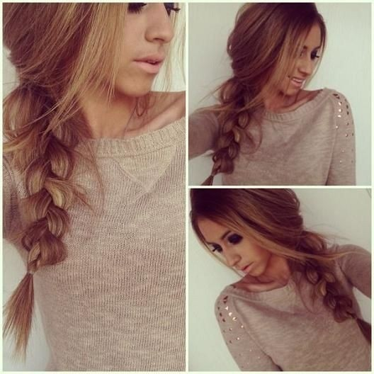 Casual Braid Hairstyle: Thick Hair