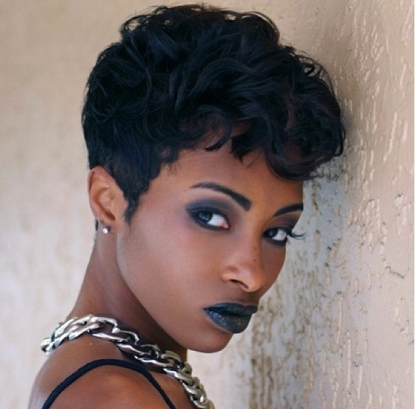Admirable 22 Easy Short Hairstyles For African American Women Popular Haircuts Hairstyles For Women Draintrainus