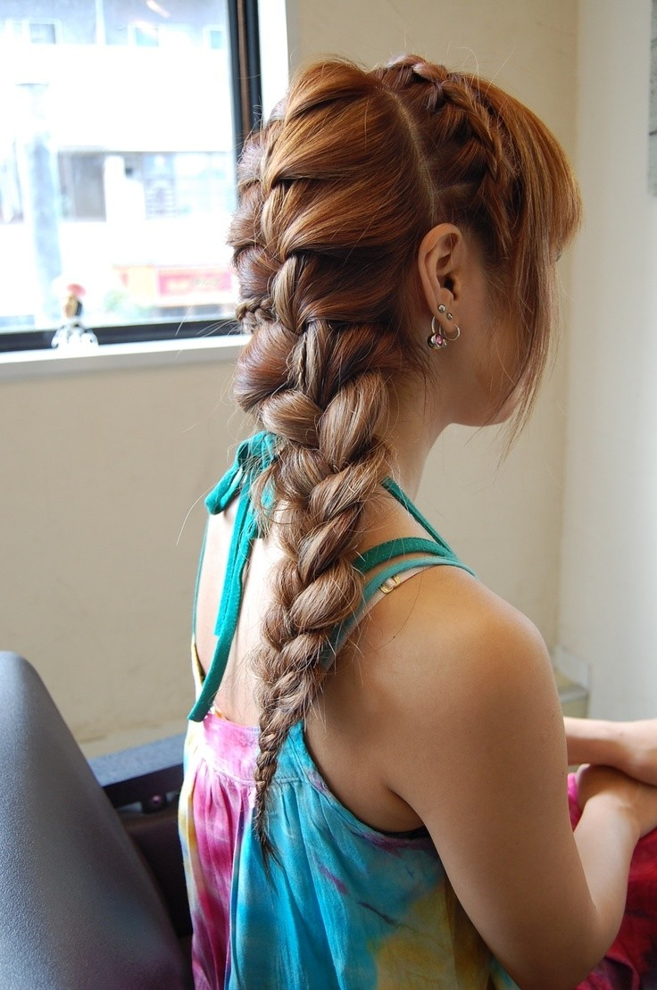 Awe Inspiring Cute Dutch Braid Hairstyles Braids Hairstyles For Men Maxibearus