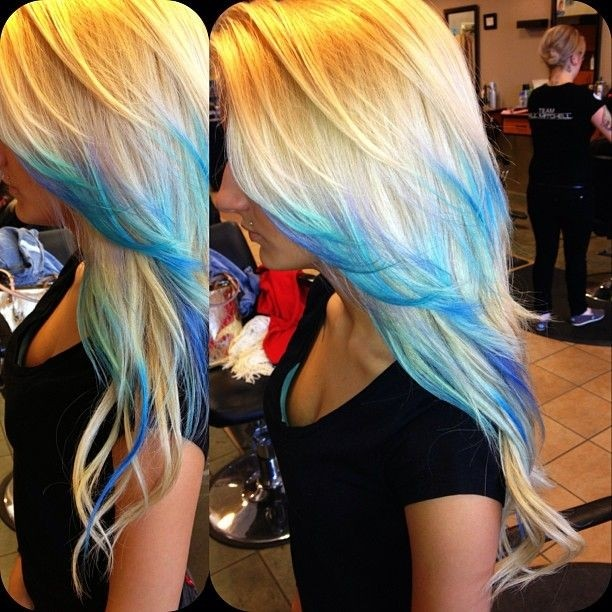 Cute, Ombre Hair
