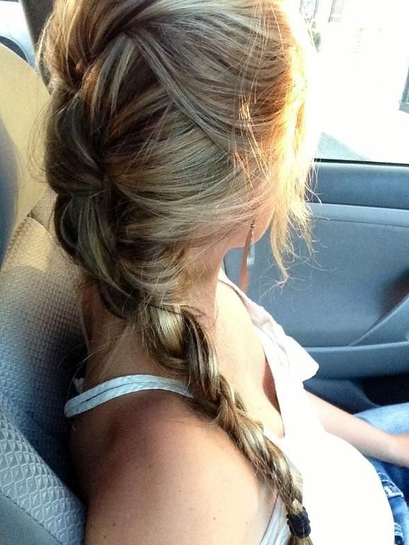 Easy Braid for Long Hair