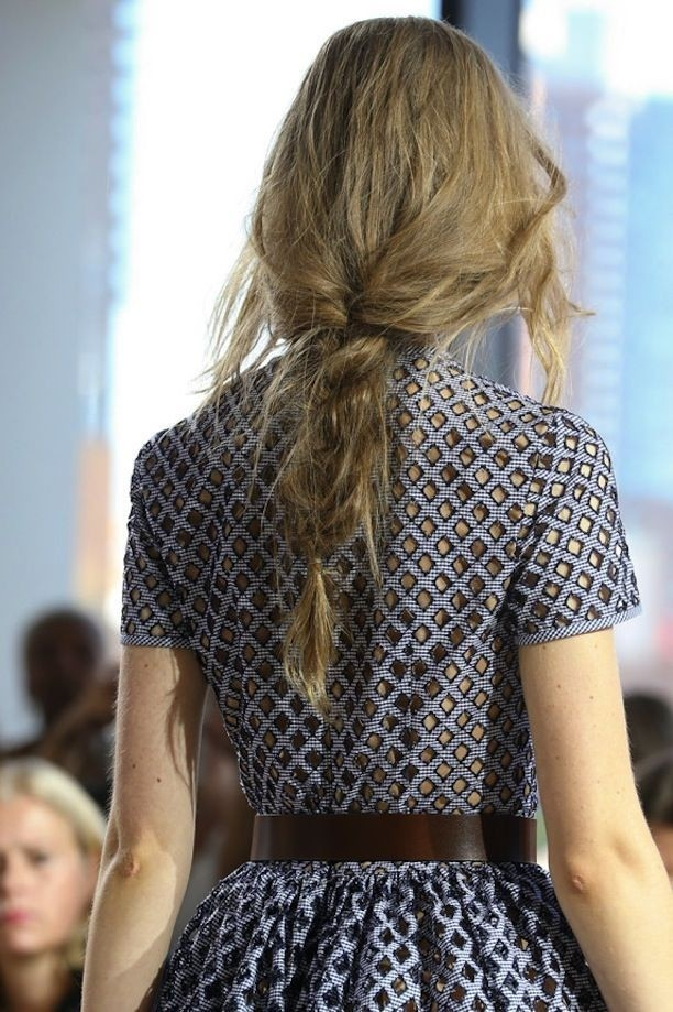 Easy, Loose Messy Braid