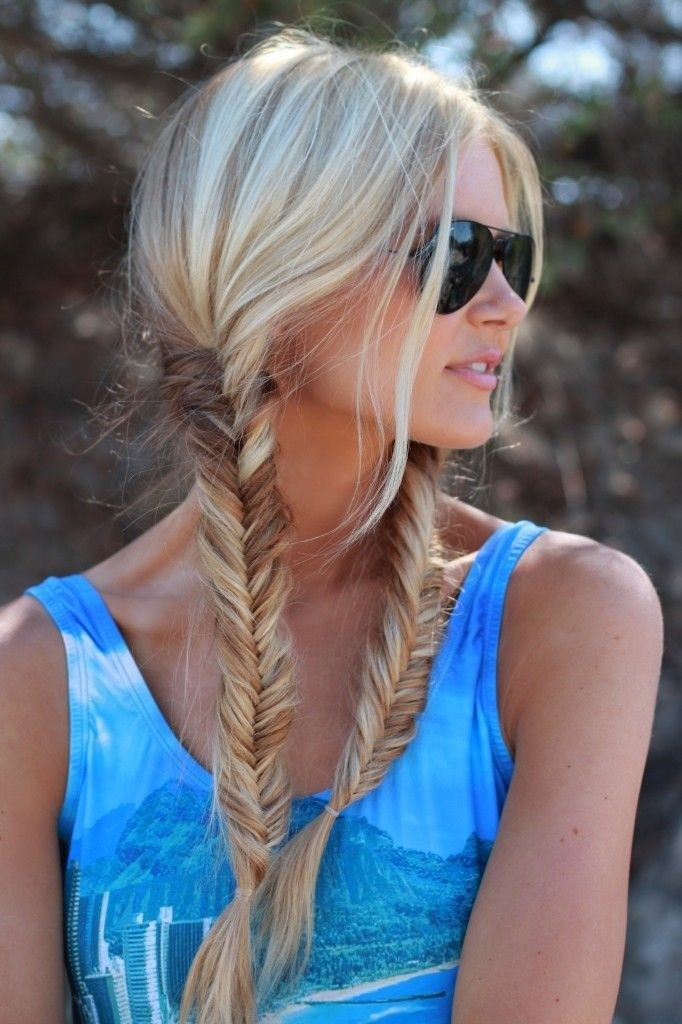 20 best braid for long hair popular haircuts for Fish tail hair