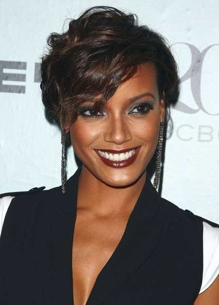22 Easy Short Hairstyles for African American Women ...