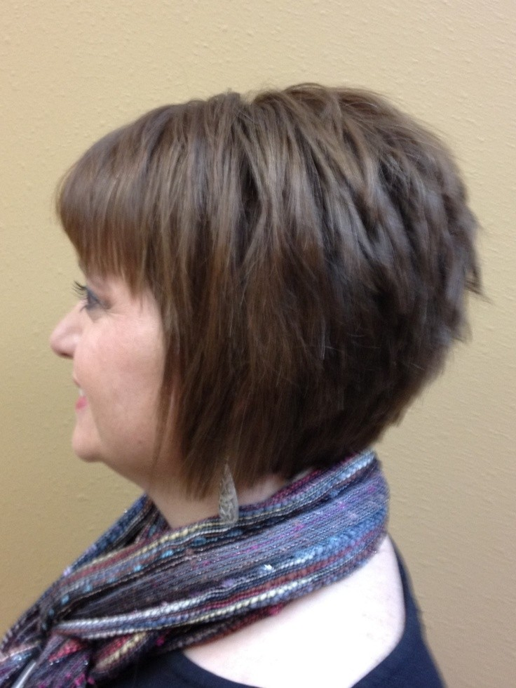 Inverted Bob With Bang Short Haircuts