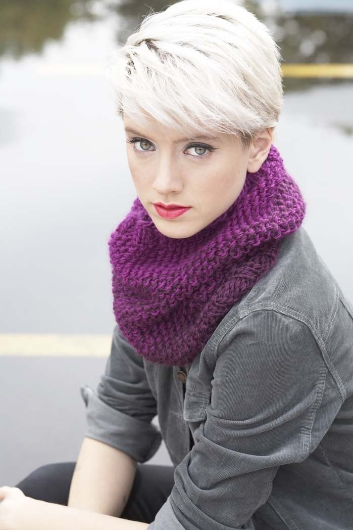 Layered Pixie Haircuts for Winter