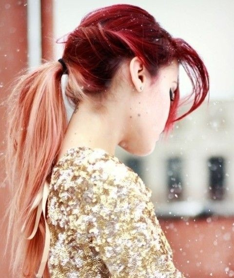 Long Hair Trend: Cute Ombre Hair for Ponytail
