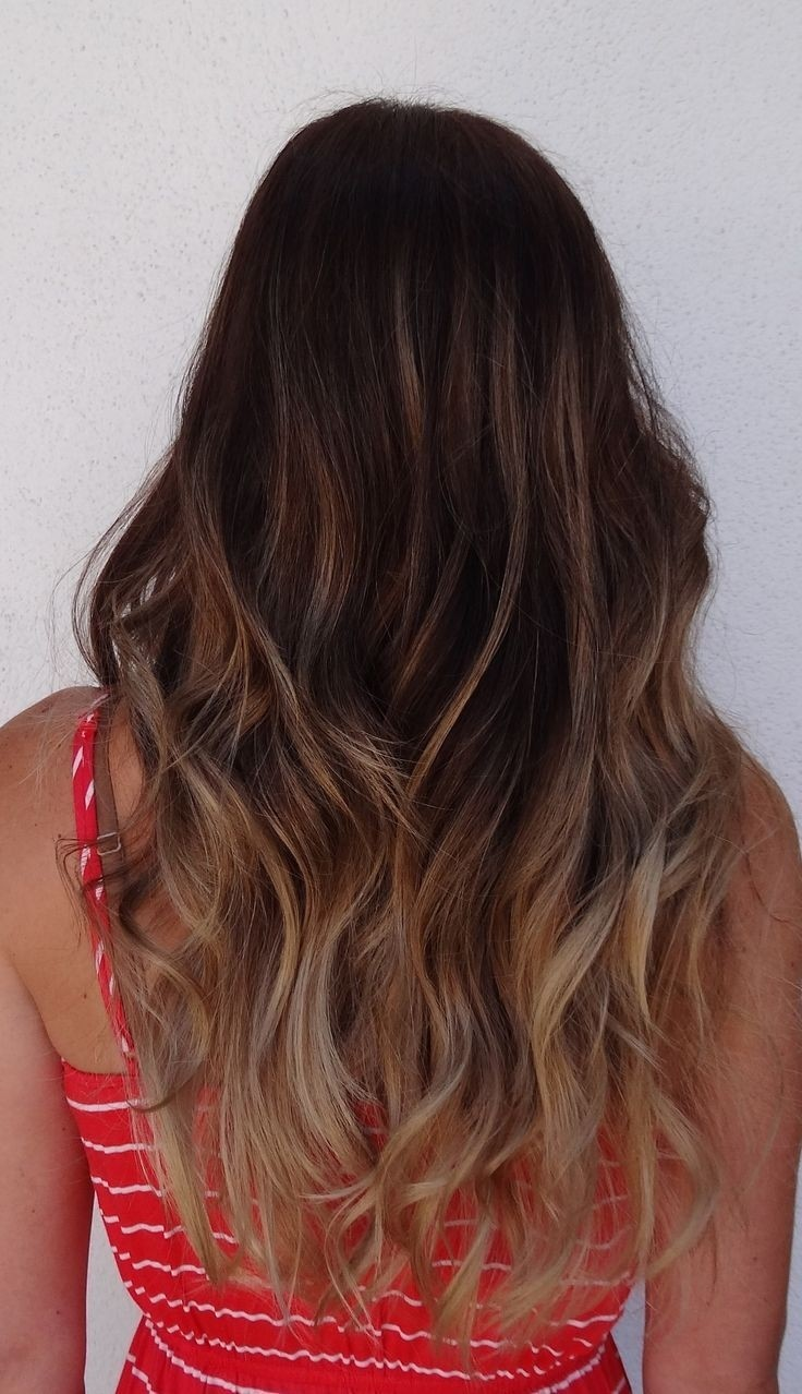 Long Wavy Hair: Ombre Hairstyles for Long Hair