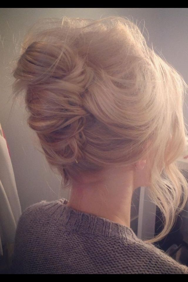 Messy French Twist Updo: Modern Everyday Hairstyles for Women
