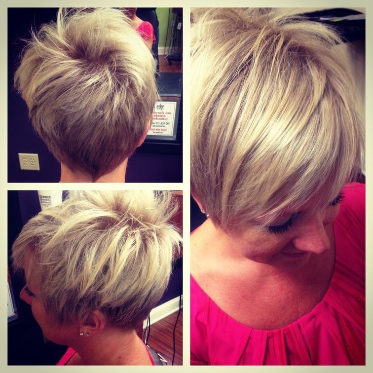 Messy Pixie Haircut: Stylish Short Hairstyles Designs for Women 2014 - 2015