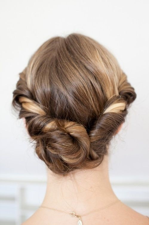 Perfect Twist Updo for Summer Days or Nights