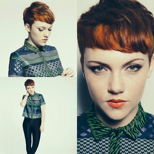 Pixie Haircuts Trends: Ombre Short Hair