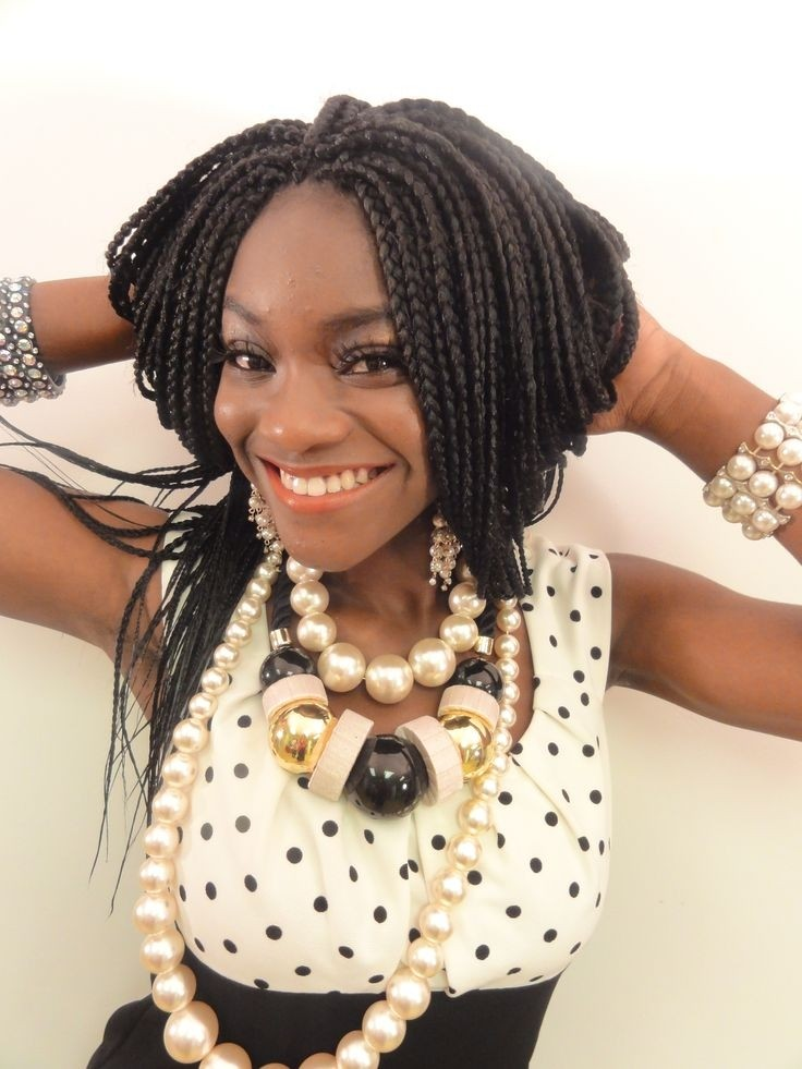 Pretty Box Braids: African American Women Hairstyles