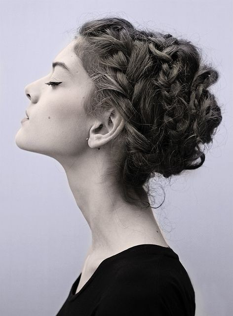 Pretty Braided Hairstyles: Updo Hairstyle