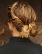 Pretty French Twist Updo Hairstyle