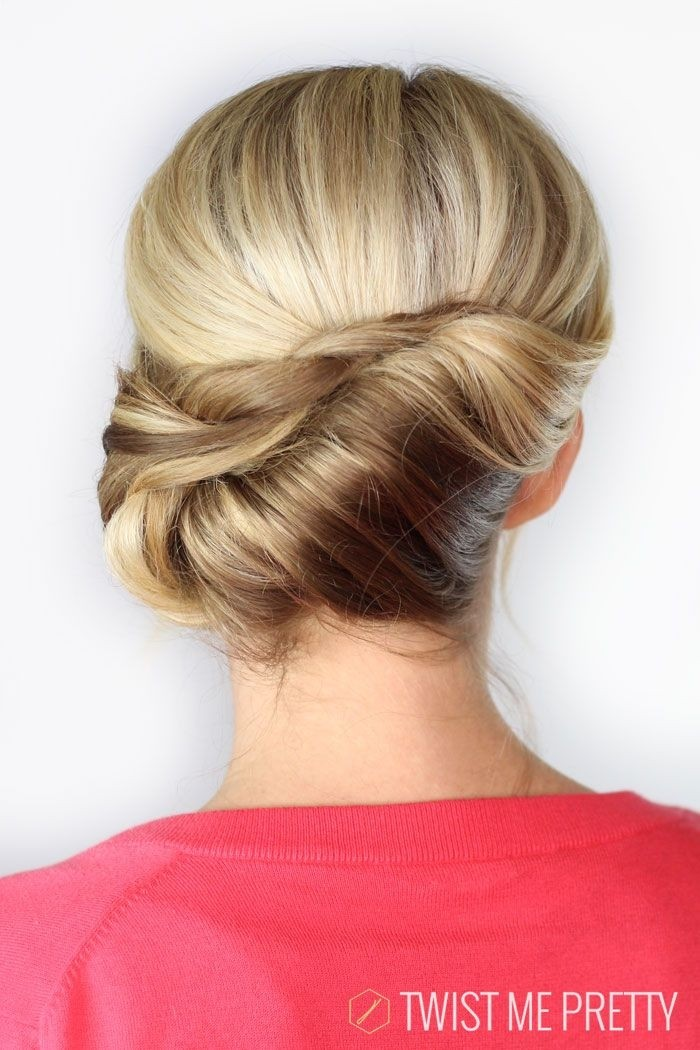 Pretty Twist Updos: Summer Hairstyles Ideas