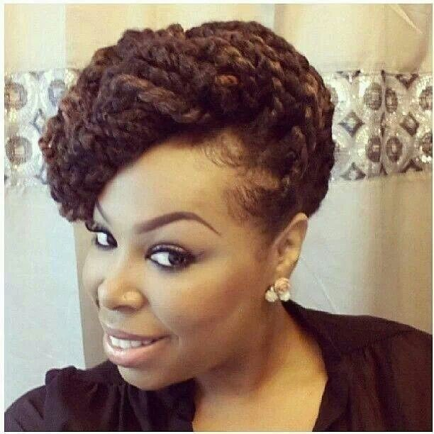 Short Hairstyles for African American Women: Protective Style