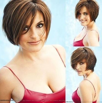 Short Hairstyles for Round Faces: Summer Haircut