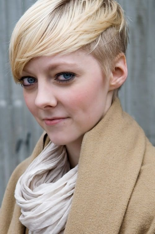 Short Shaved Haircut: Women Hairstyles for Thin Hair