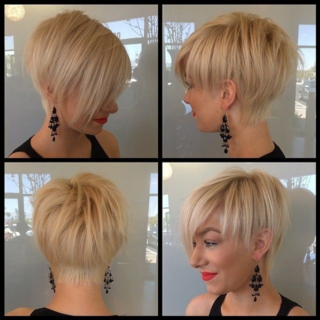 Simple Hairstyle for Short Hair: Women Straight Hair Cut