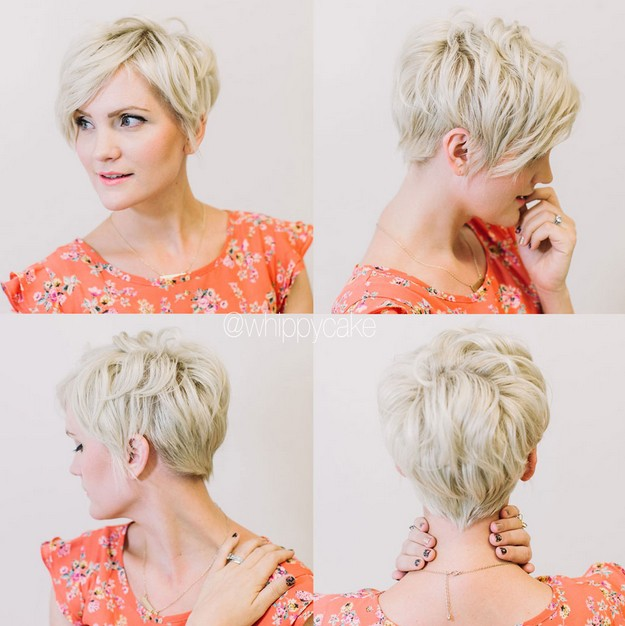 ... for Short Hair: Short Layered Haircut for Women Over 30 – 40
