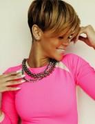 Stylish Short Hairstyles for African American Women: Rihanna Short Cut