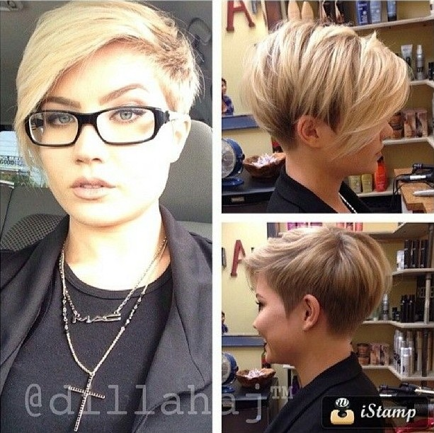 Trendy Short Haircuts: Easy Pixie Hairstyles with Long Bangs