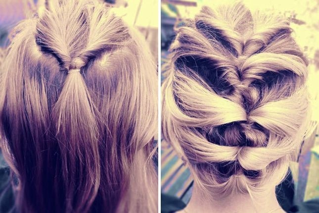 Twist Updos Ideas
