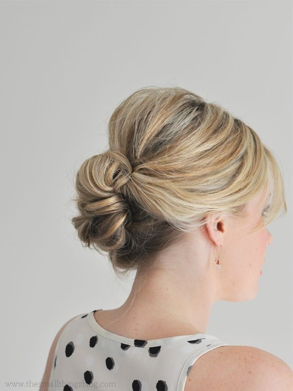 Updo Hairstyles for Thin Hair