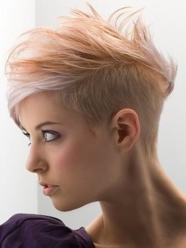 Women Hairstyles for Thin Hair: Under Cut for Short Hair