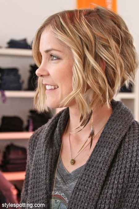 Curly Bob: Short Hairstyles for Fall and Winter