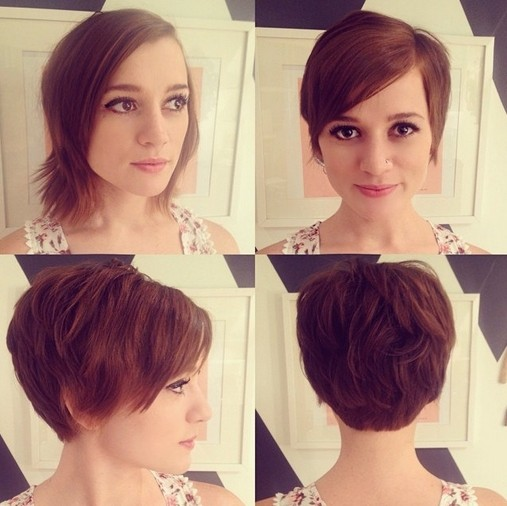 Cute pixie hair cut for spring and summer short haircuts 2015