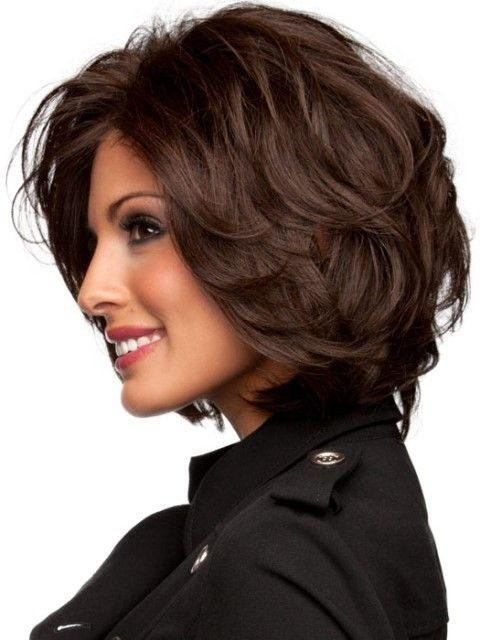 Bob Hairstyle with Beaytiful Color: Medium Length Haircuts 2015 / Via