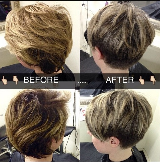 Short Layered Hairstyles Fine Hair