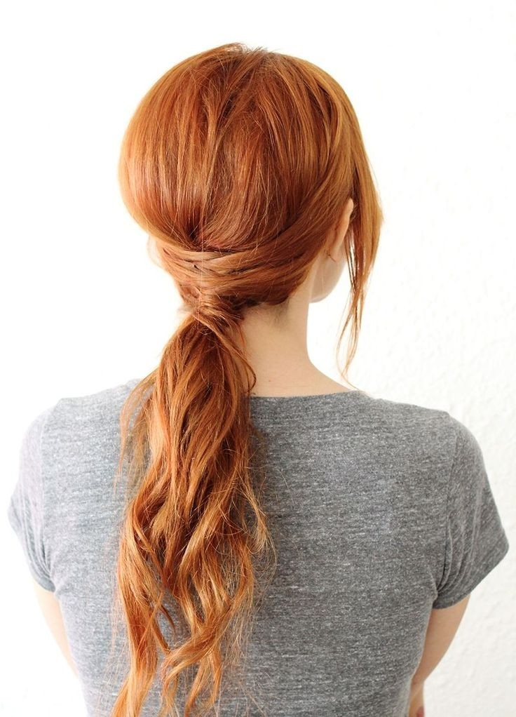 Easy, Low Ponytail Hairstyle: Long Hair Styles