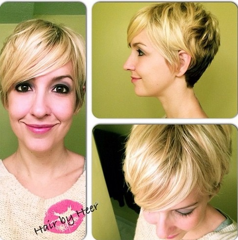 Everyday Hairstyle for Short Hair - Women Short Hairstyles for Long Faces