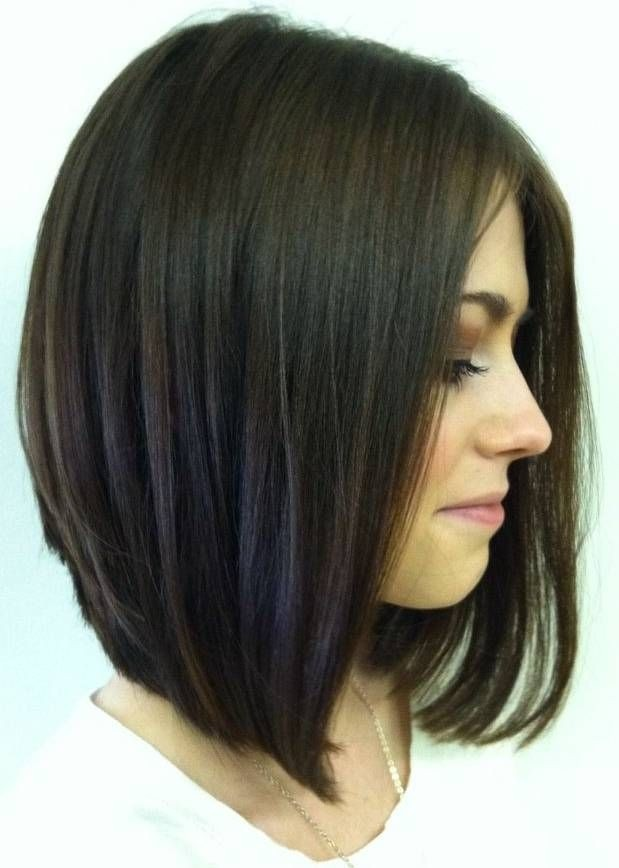 Inverted Long Bob Haircut - Cute, Girls Hairstyles for