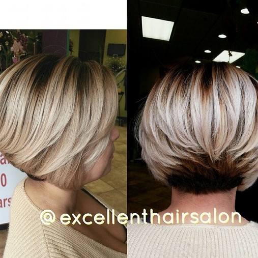Layered Long Bob Hairstyles For Thick Hair 68
