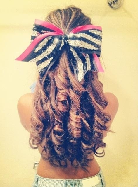 Popular 23 Cute Cheer Hairstyles
