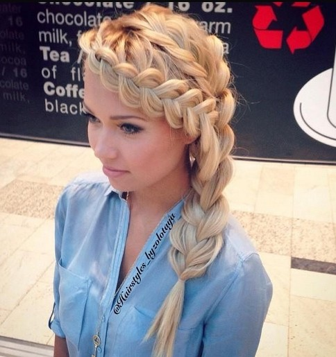 Loose Braided Hairstyles for Long Hair