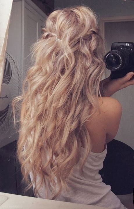 Excellent Hairstyles Long Hair Loose Curls Best Hairstyles 2017 Short Hairstyles Gunalazisus
