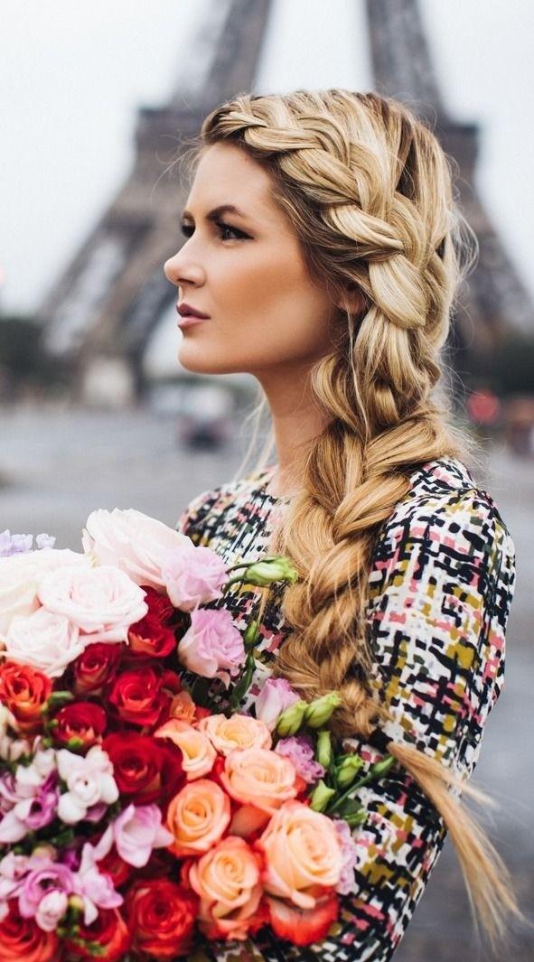 Loose Side Braid: Braided Hairstyles Ideas